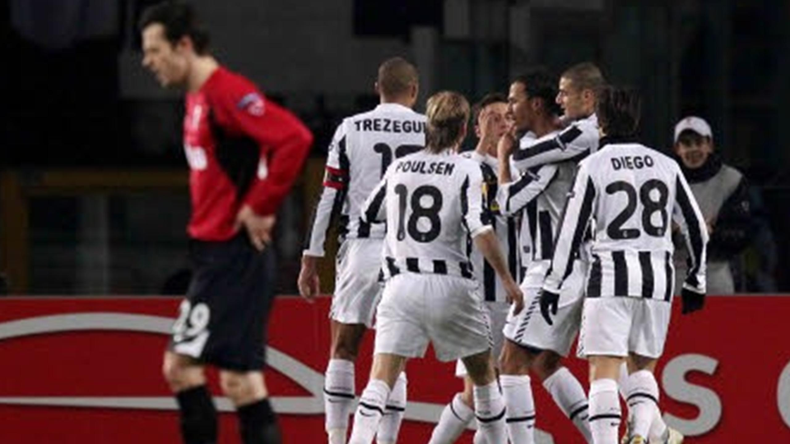Ювентус лига европы 2010