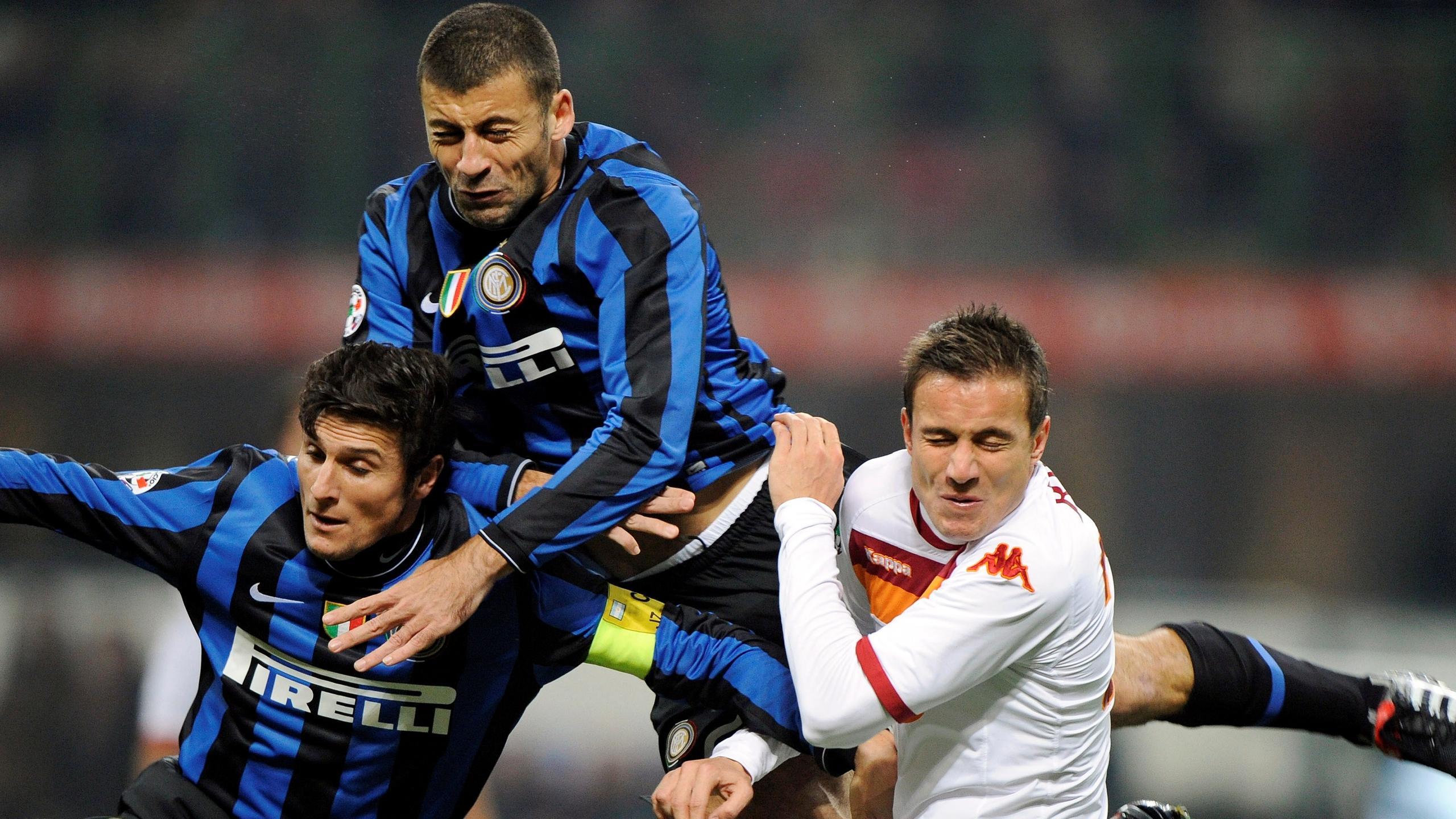 Футбол чемпионат италии милан- рома 2008- 2009