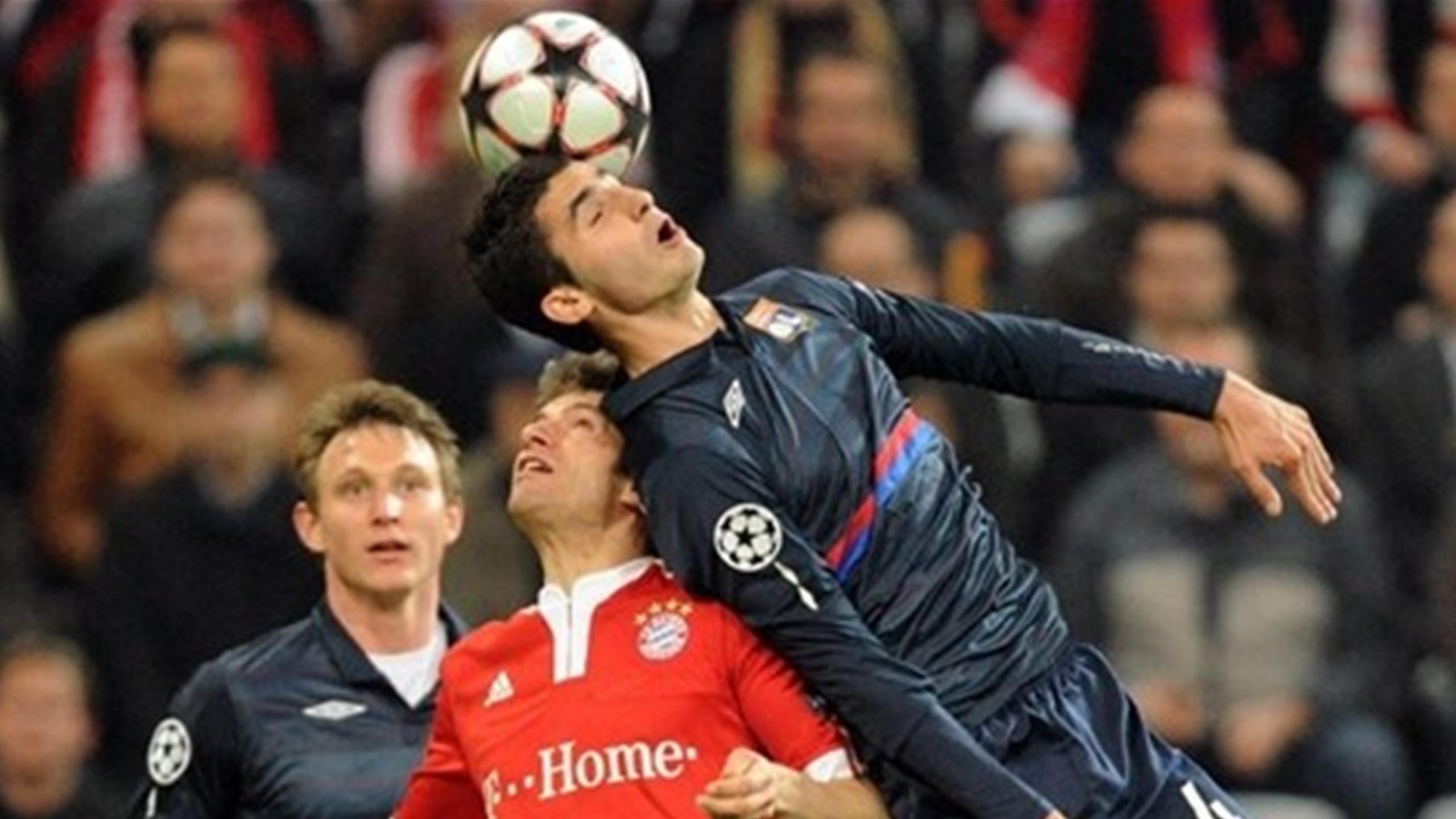 Бавария лион футбол