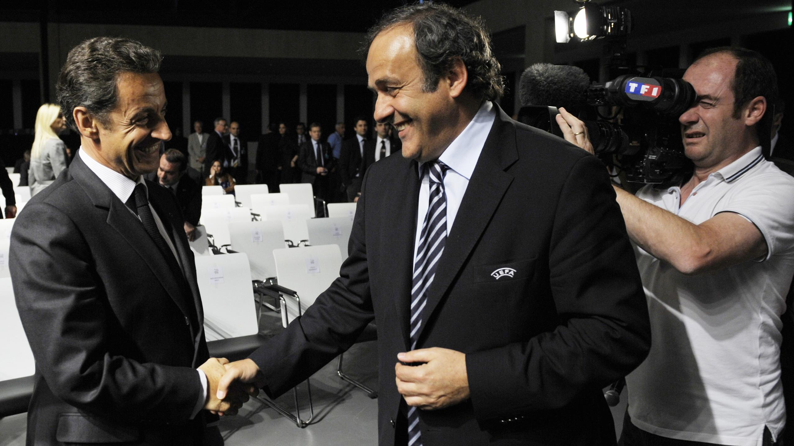 Sarkozy et Platini