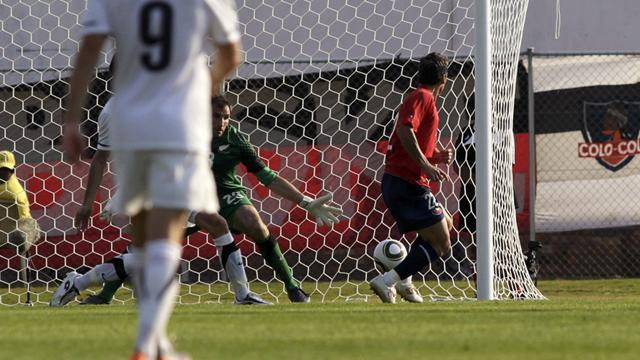 Chile beat NZ in final warm-up