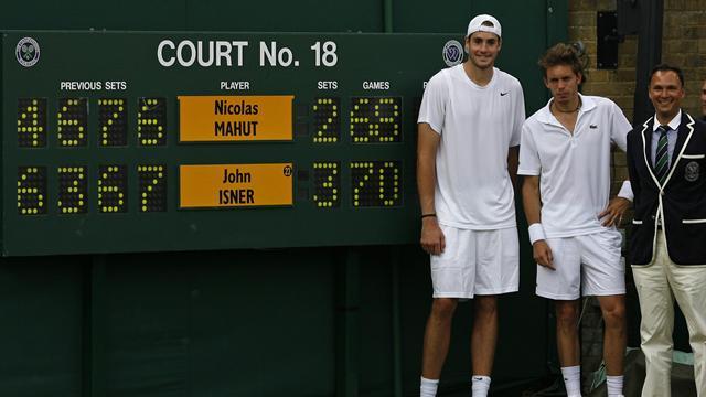 Isner ve Mahut'a 11 saat yetmemiş