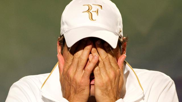 "Federer: ""Je ne me sens pas bien"""