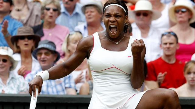 Serena épanouie pour la 4e fois