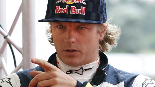 Räikkönen sans Red Bull