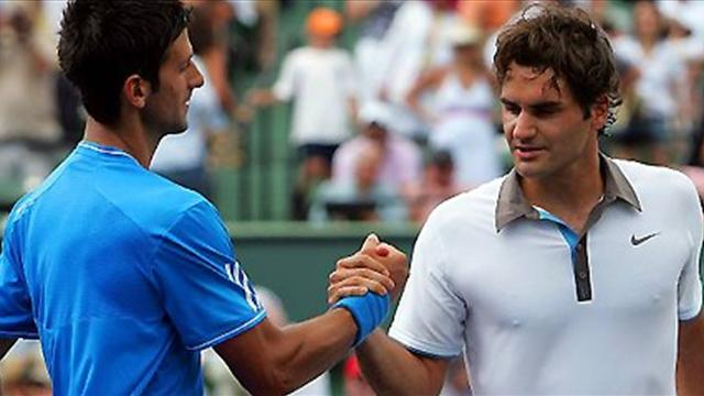 Federer double Djokovic