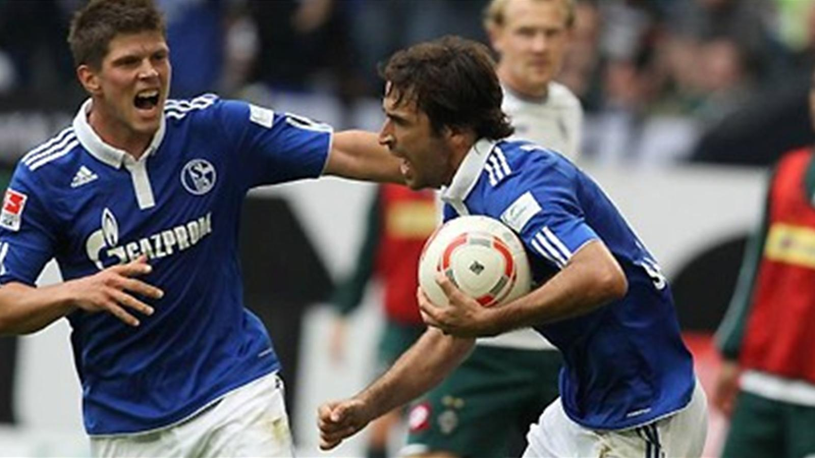Шальке- боруссия 1- 0 гол рауля