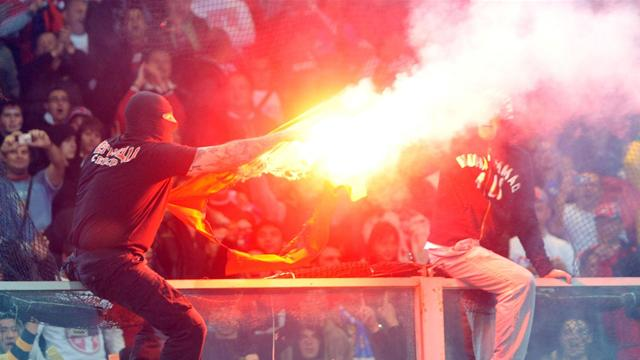 AIK Stockholm handed defeat for firecracker incident