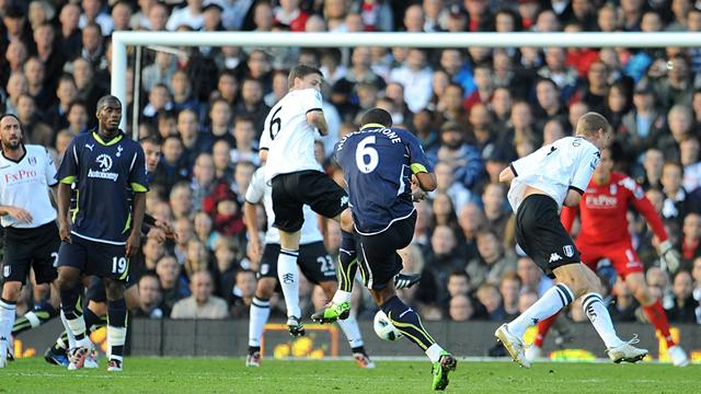 Spurs inflict first Fulham defeat