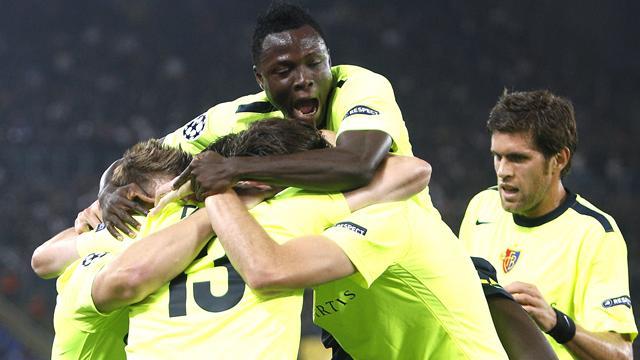 Basel brush aside Roma