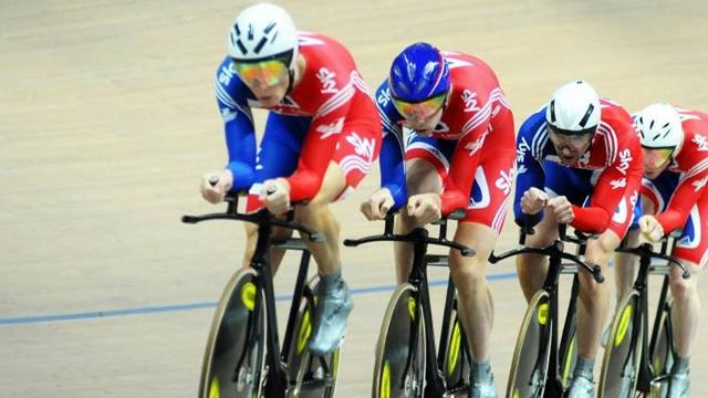 Team Gb Ride To Gold Cycling Eurosport Asia