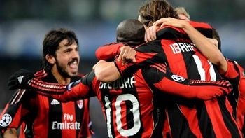 Milan down Auxerre - Champions League 2009-2010 - Football