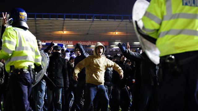 Birmingham accept fan charge