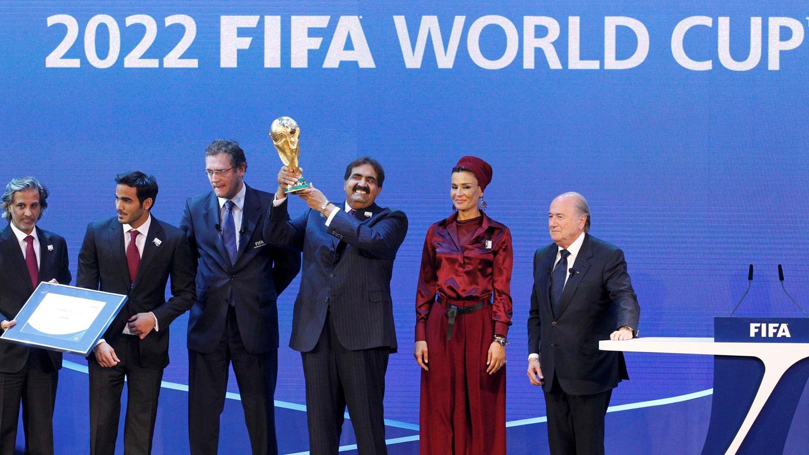 Soup ons de corruption sur l 39 attribution de la coupe du - Prochaine coupe du monde de foot 2022 ...