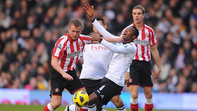 Sunderland hold Fulham to draw