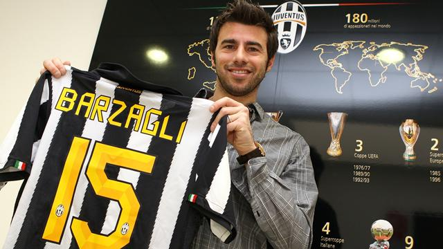 Barzagli completes Juventus switch