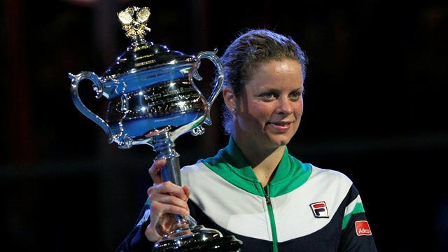 Clijsters lands maiden Australian Open title