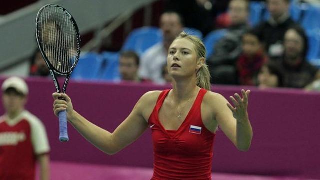 Sharapova to lead Russia against Spain