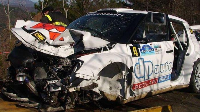 Robert kubica crash british automotive for Kubica cars