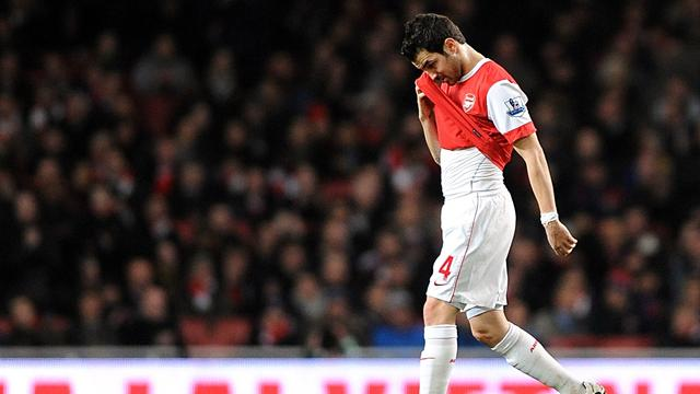 Fabregas out of Cup final