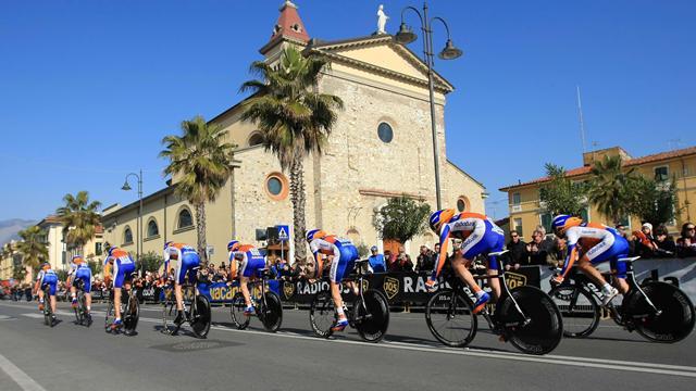 Rabobank devient Blanco Pro Cycling en 2013