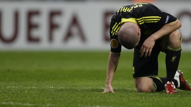 Liverpool beaten in Braga