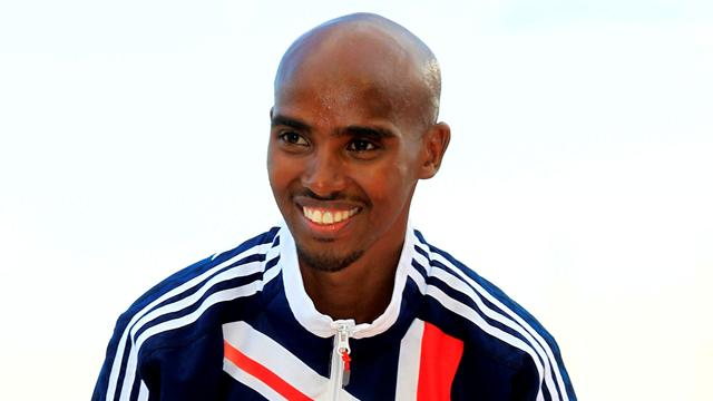 Farah in 100-strong provisional squad