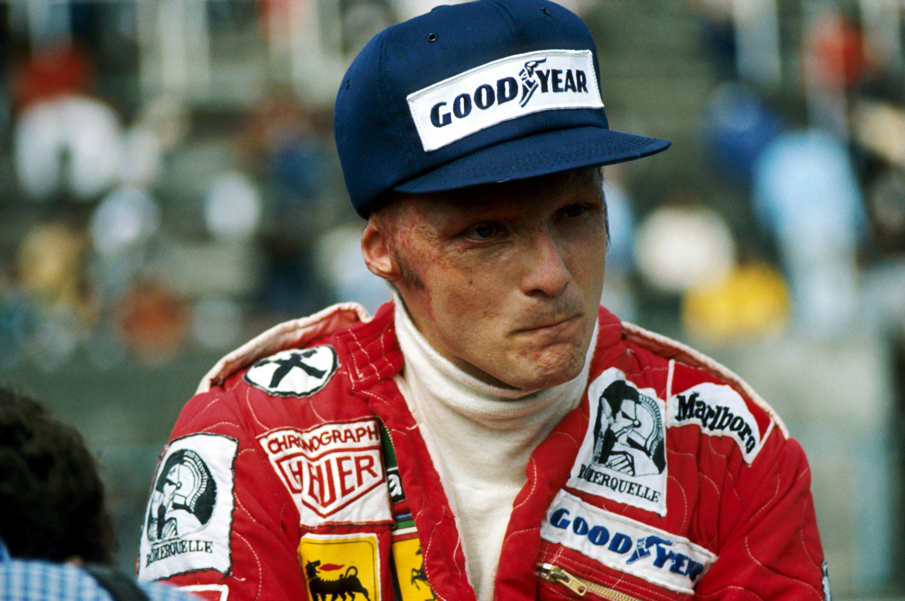 Niki Lauda (Ferrari) en 1976