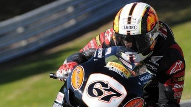Byrne leads field at Snetterton