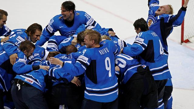 World hockey glory for Finland