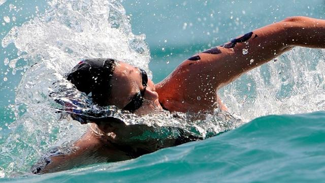 Marathon swimmers ready for Olympic plunge