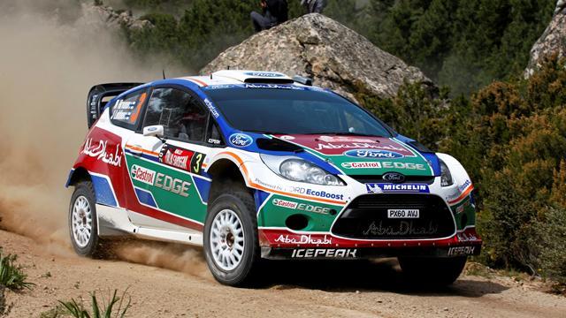 Ford en terre (mixte) argentine