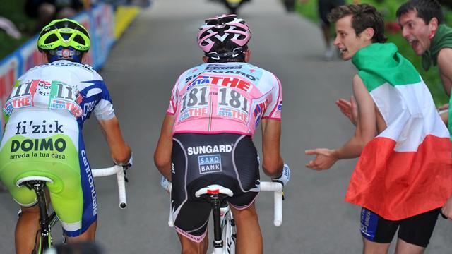 Contador recuerda uno de sus días más duros: Subir el Zoncolan al límite en el Giro 2011