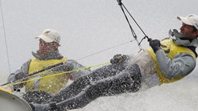 Australians lead three classes at Sailing World Cup