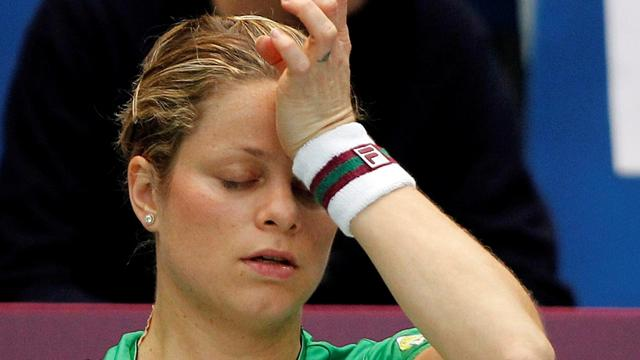 Injured Clijsters out of Wimbledon