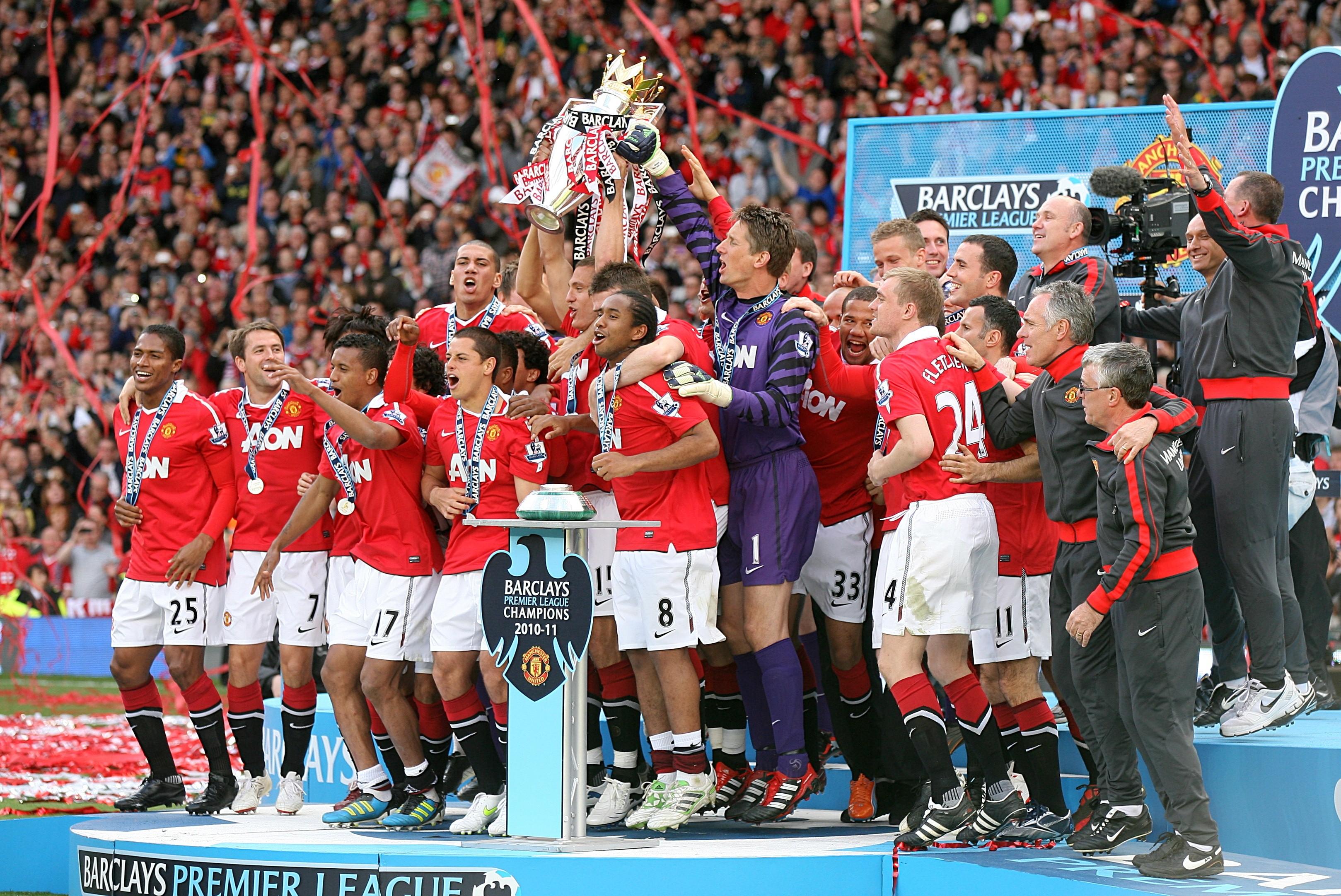 2011 Premier League şampiyonu Manchester United