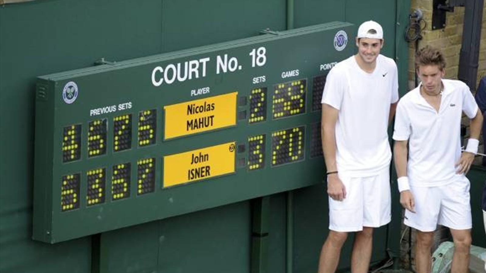 Как Изнер и Маю переписывали рекорды. 24 июня в истории тенниса ...