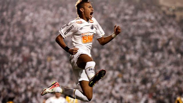 Brawl as Neymar helps Santos win Libertadores