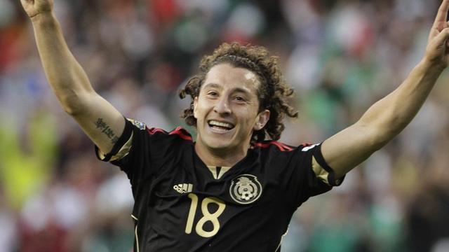 2011 Gold Cup Mexico Andres Guardado