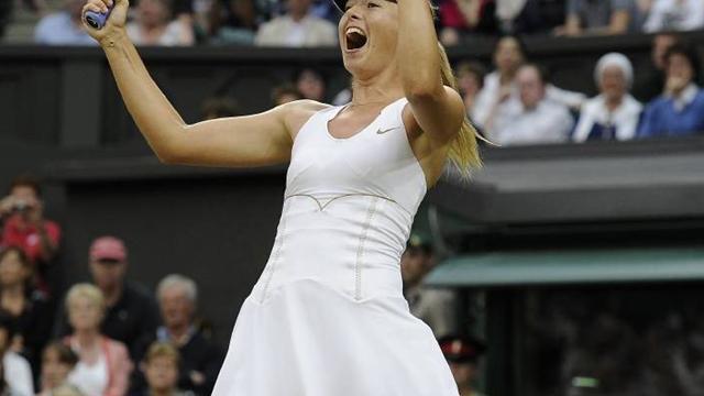 Sharapova revient dans la lumière
