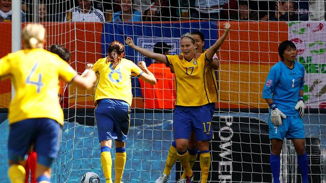 Sweden in pole position