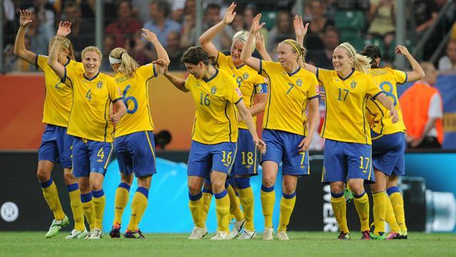 Schweden Mit Sensation Frauen Wm 2011 Fußball Eurosport
