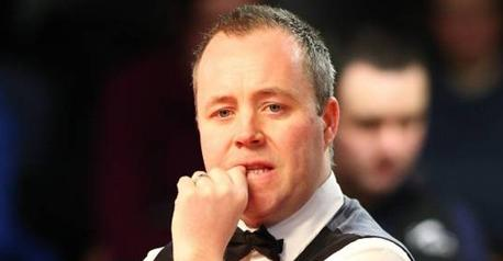Snooker-Maguire whitewashes Higgins in Berlin