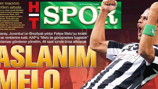 Felipe Melo koptu geliyor!