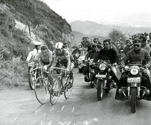 1964 Tour de France:  Puy-de-Dome,  Anquetil und Poulidor
