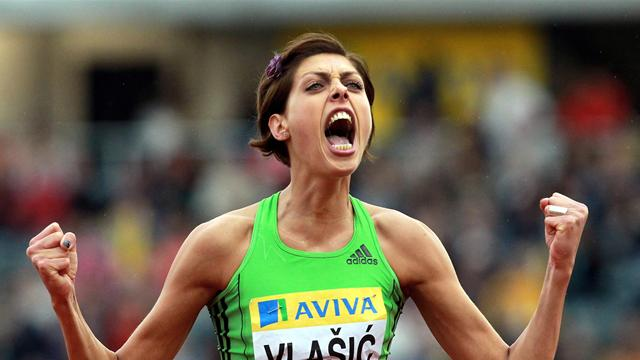 High jumper Vlasic ruled out of Olympics