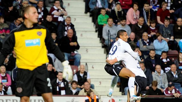 Tottenham thrash Hearts