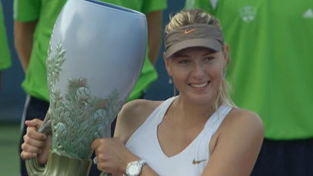Sharapova signe sa revanche