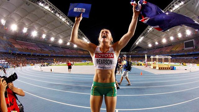 Pearson strikes gold for Australia