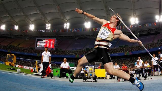 De Zordo hits it hard for javelin gold